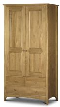 Kendal Pine 2 Door Combinaton Wardrobe